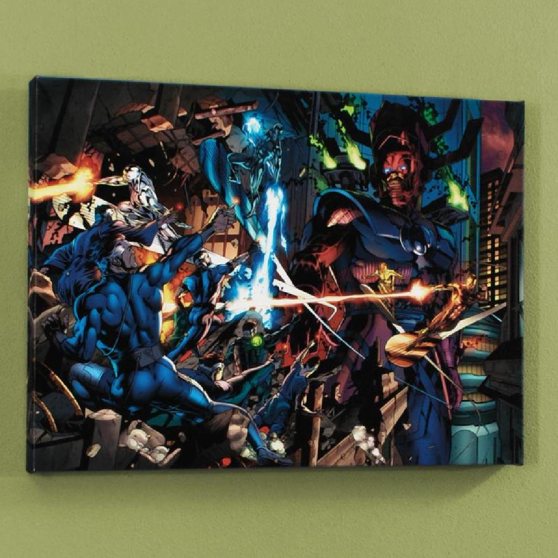 """Fantastic Four #571"" Limited Edition Giclee on Canvas"