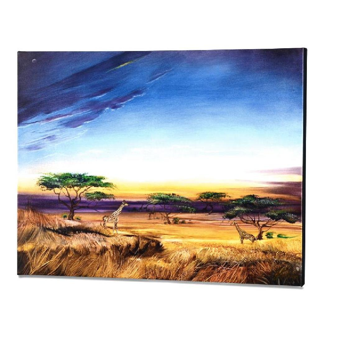 """""""Africa at Peace"""" Limited Edition Giclee on Gallery"""