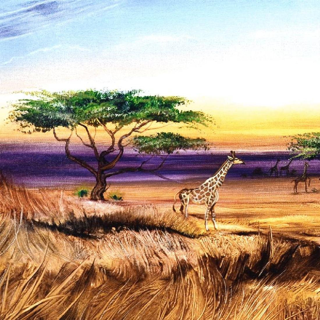 """""""Africa at Peace"""" Limited Edition Giclee on Gallery - 6"""