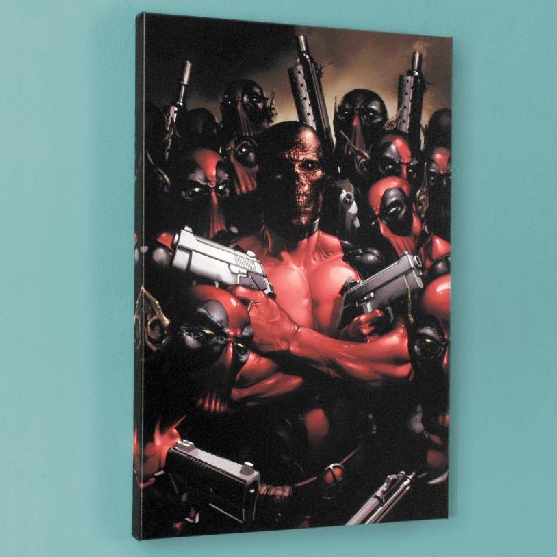 """""""Deadpool #2"""" Limited Edition Giclee on Canvas by"""