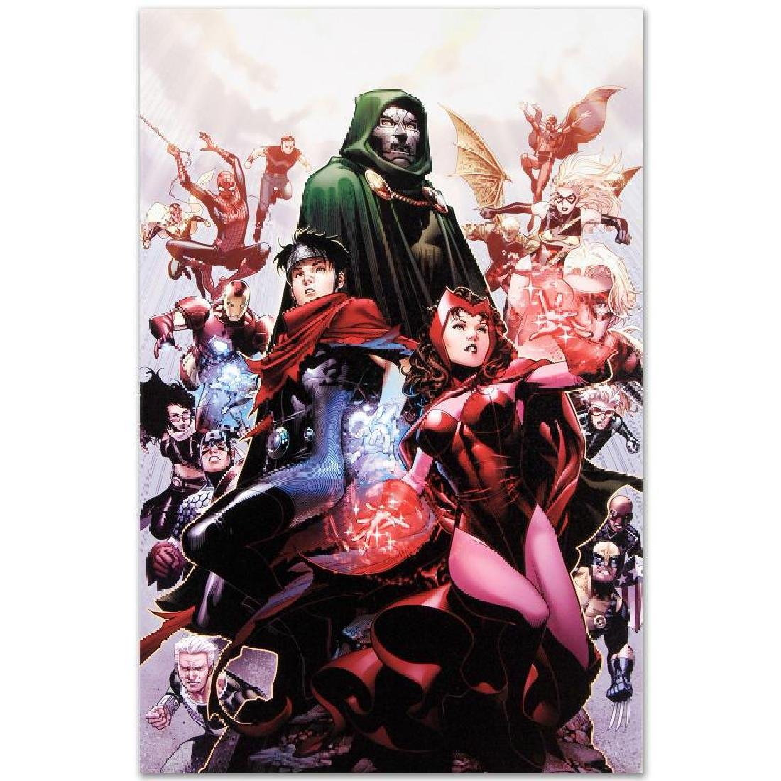 """Avengers: The Children's Crusade #4"" LIMITED EDITION - 5"