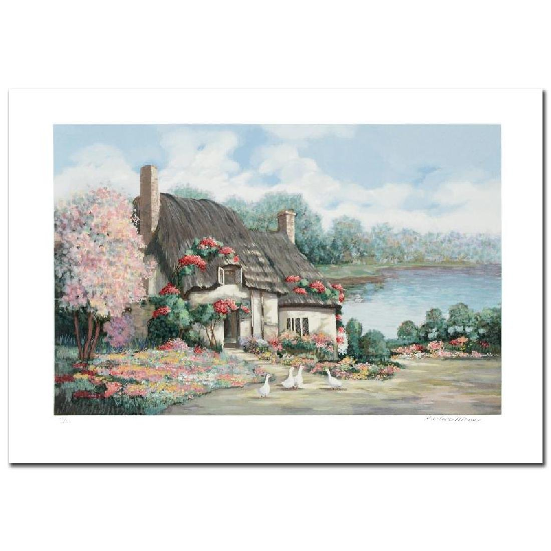 """""""Sussex I"""" Limited Edition Serigraph by Earlene Moses"""