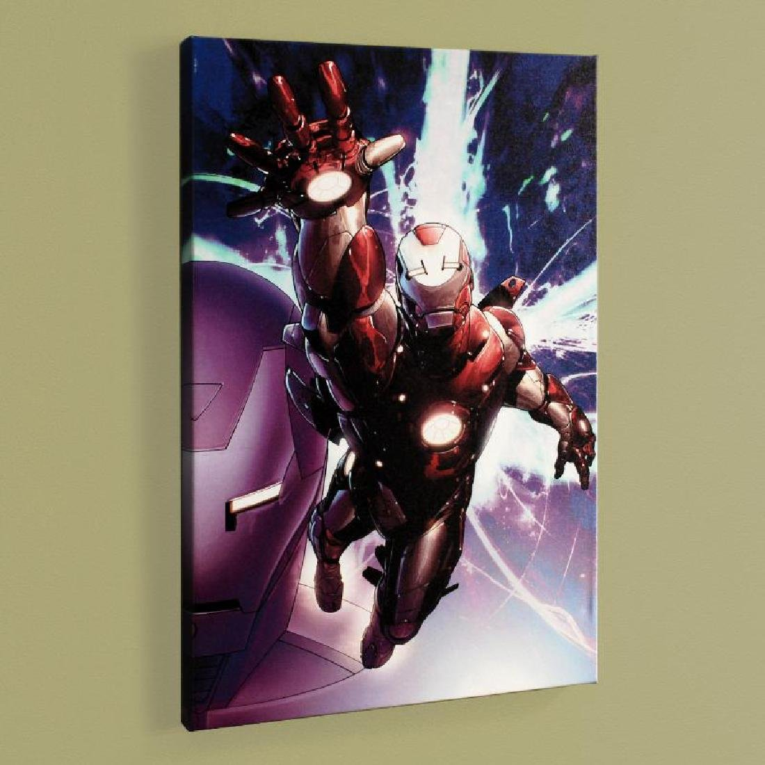 """""""Invincible Iron Man #25"""" Limited Edition Giclee on"""