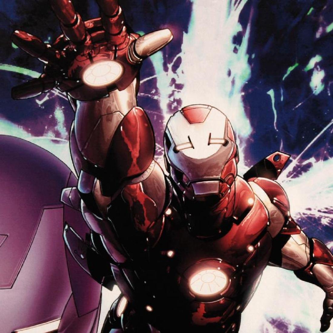 """""""Invincible Iron Man #25"""" Limited Edition Giclee on - 4"""