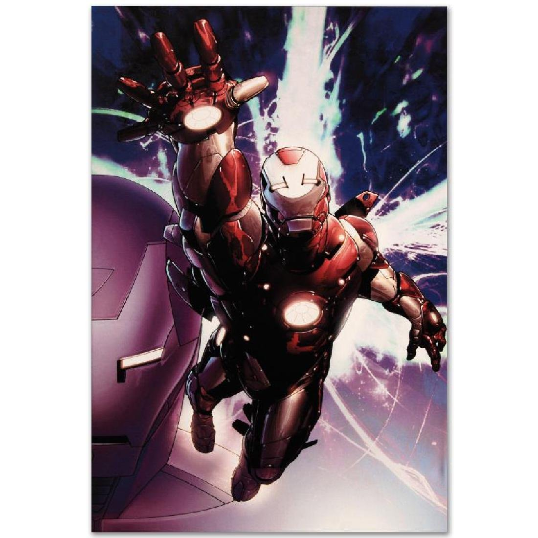 """""""Invincible Iron Man #25"""" Limited Edition Giclee on - 6"""