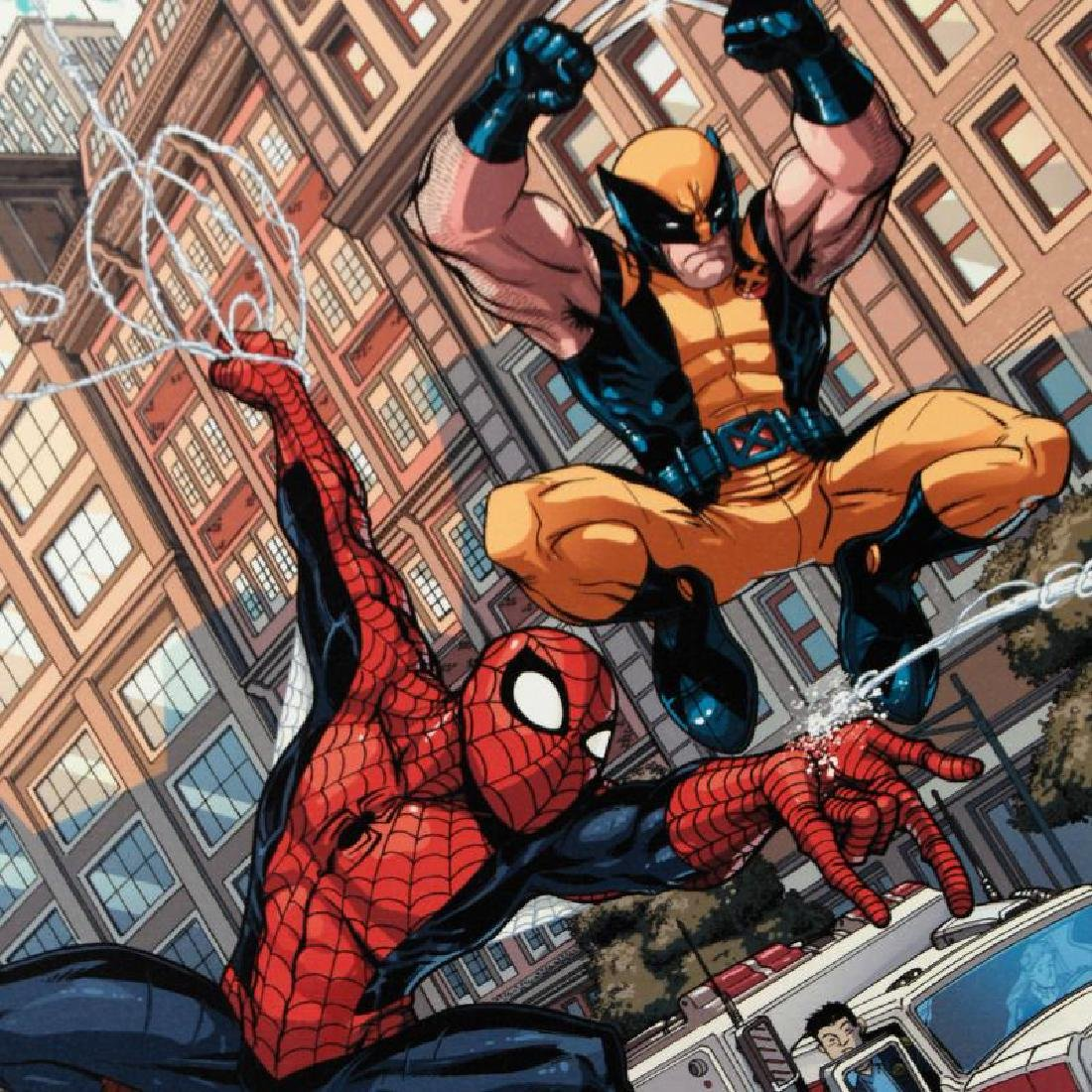 """Astonishing Spider-Man & Wolverine #1"" Limited Edition - 4"