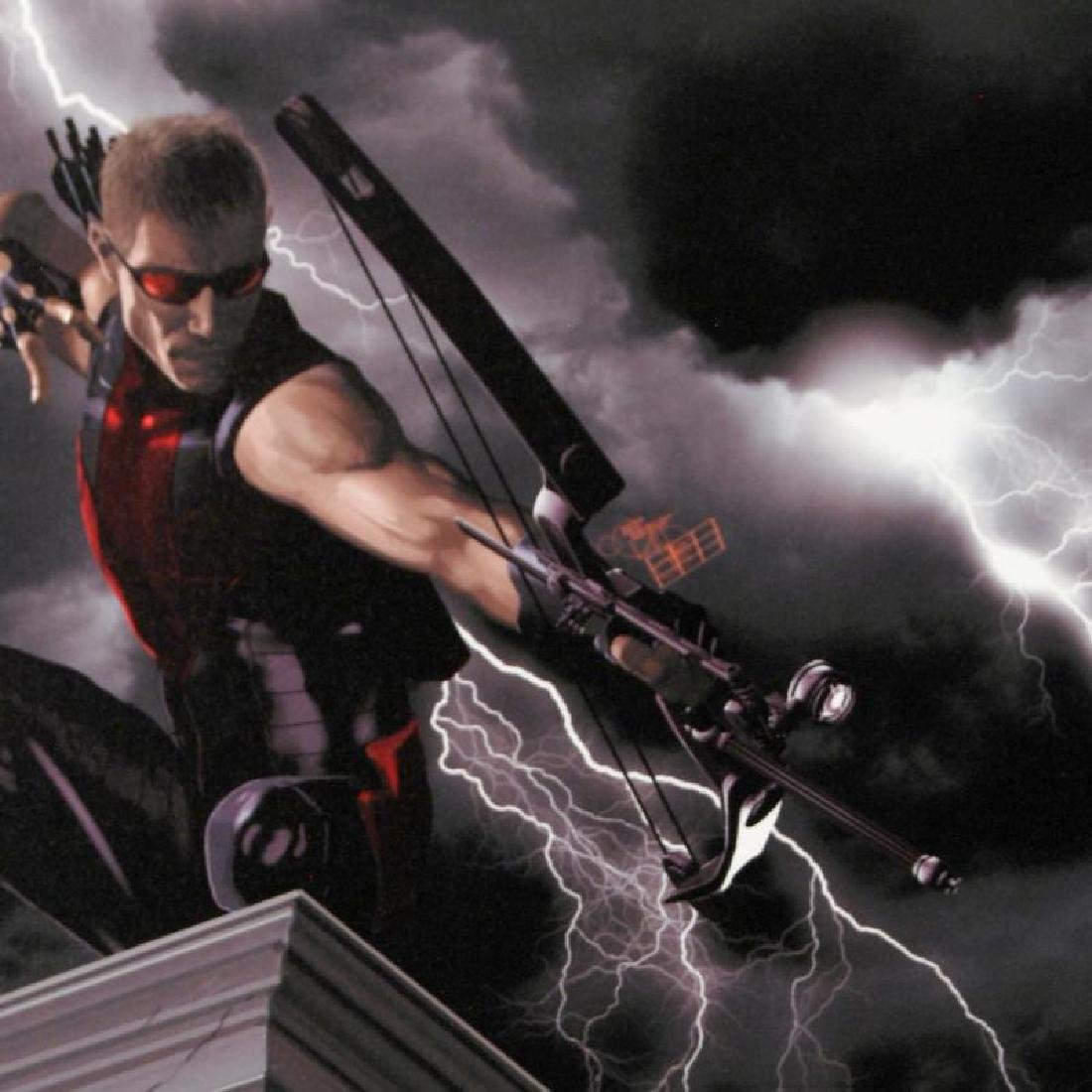 """""""Ultimate Hawkeye #2"""" Limited Edition Giclee on Canvas - 3"""