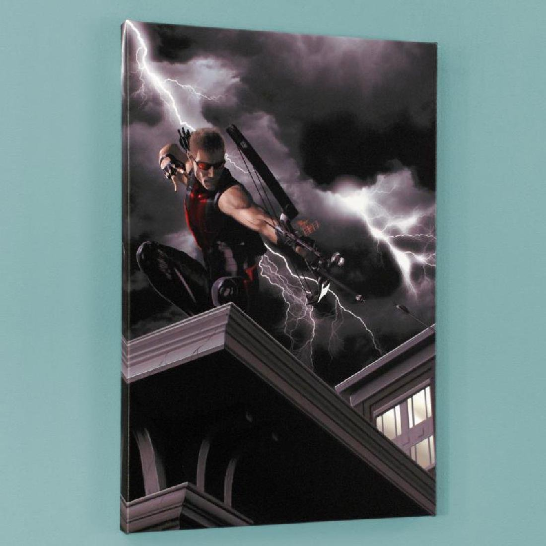 """""""Ultimate Hawkeye #2"""" Limited Edition Giclee on Canvas - 4"""