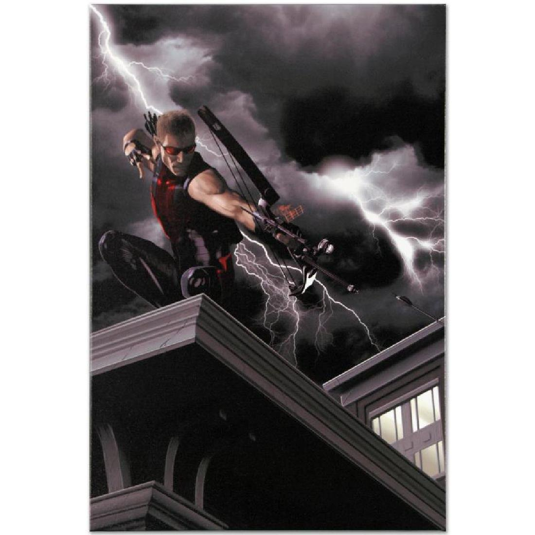 """""""Ultimate Hawkeye #2"""" Limited Edition Giclee on Canvas - 6"""