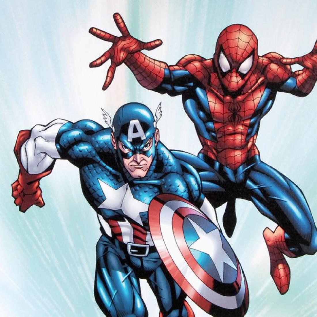 """""""Marvel Age Team Up #2"""" LIMITED EDITION Giclee on - 5"""
