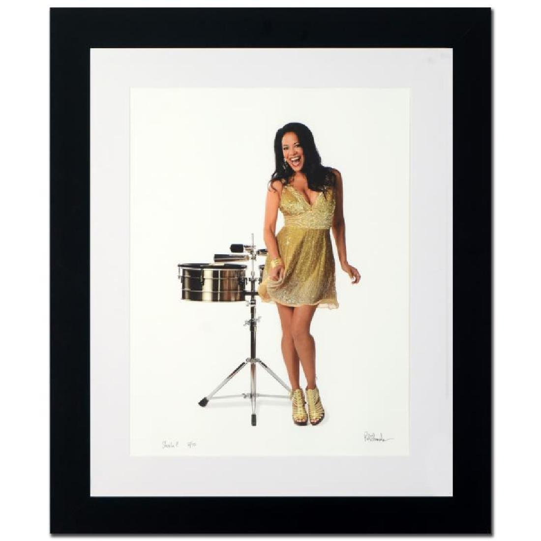 """Sheila E."" Limited Edition Giclee by Rob Shanahan"