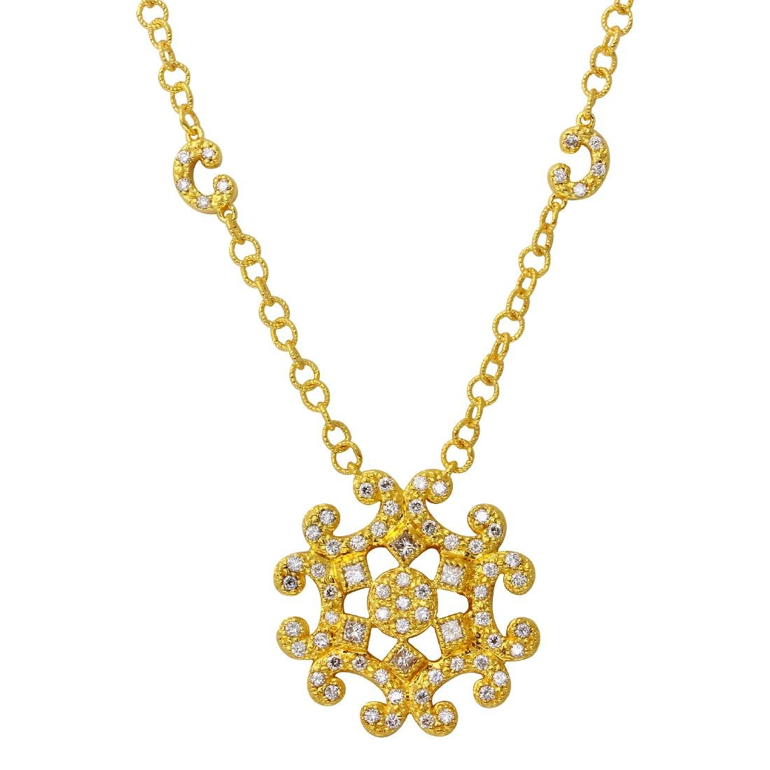 Philippe Charriol 18KT Yellow Gold Diamond Necklace