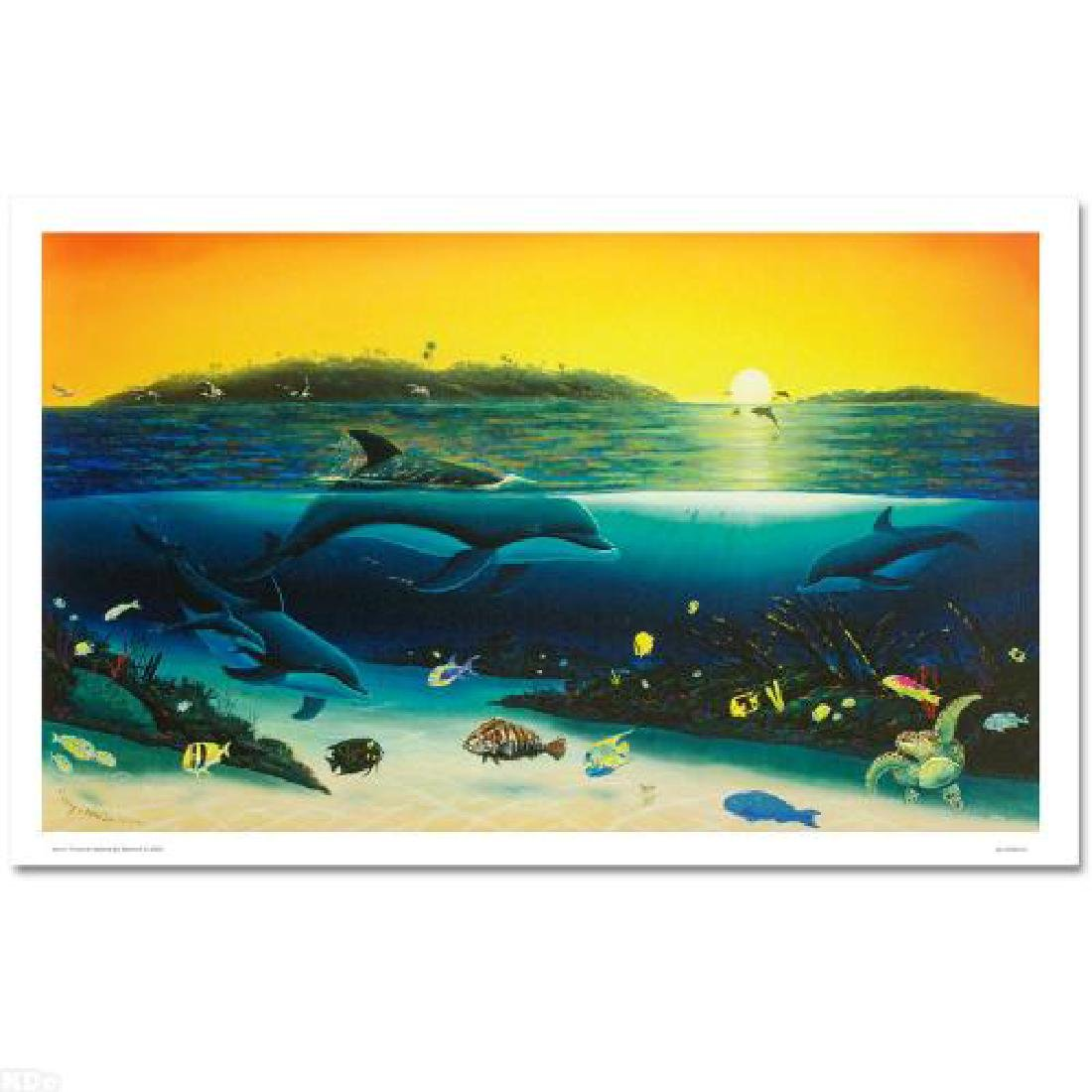 """""""Warm Tropical Waters"""" Limited Edition Giclee on Canvas"""
