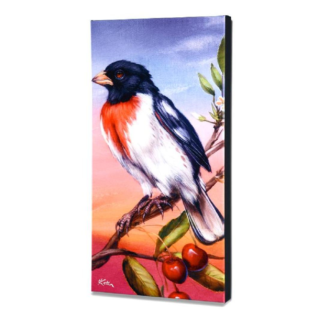 """Rose Breasted Grosbeak"" Limited Edition Giclee on"