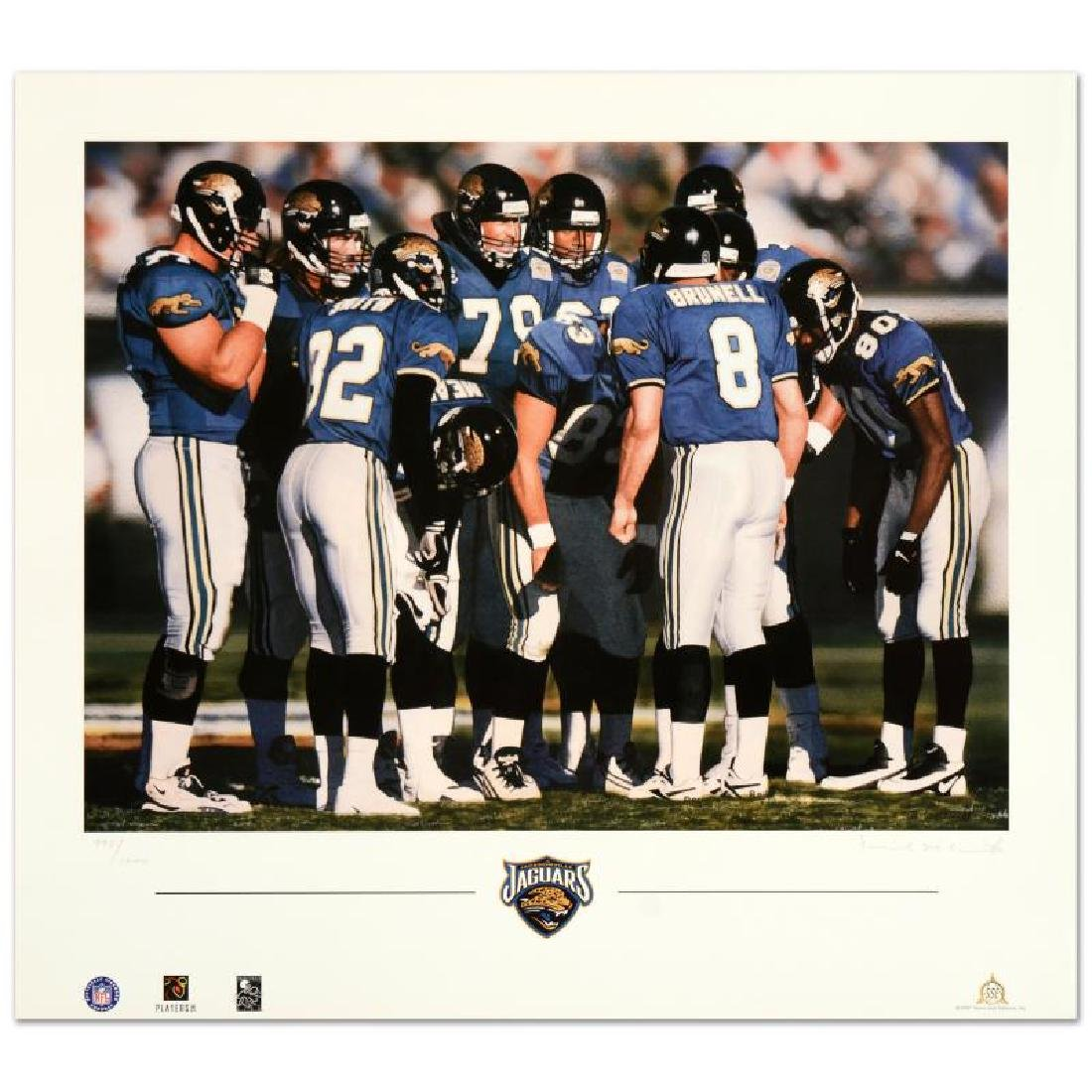 "Daniel M. Smith - ""The Huddle VII (Jaguars)"" Limited - 3"