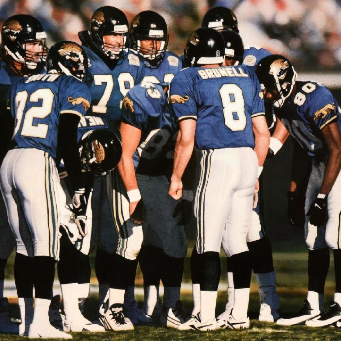 "Daniel M. Smith - ""The Huddle VII (Jaguars)"" Limited - 4"