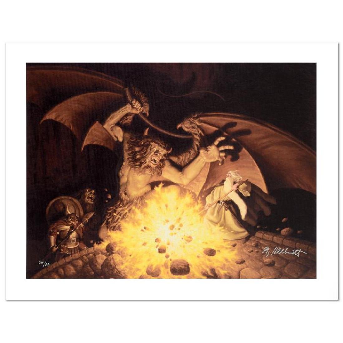 """Balrog"" Limited Edition Giclee on Canvas by The"