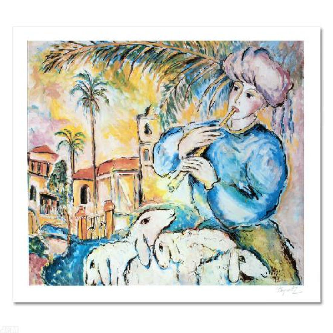 """Jaffa"" Limited Edition Lithograph by Zamy Steynovitz - 3"