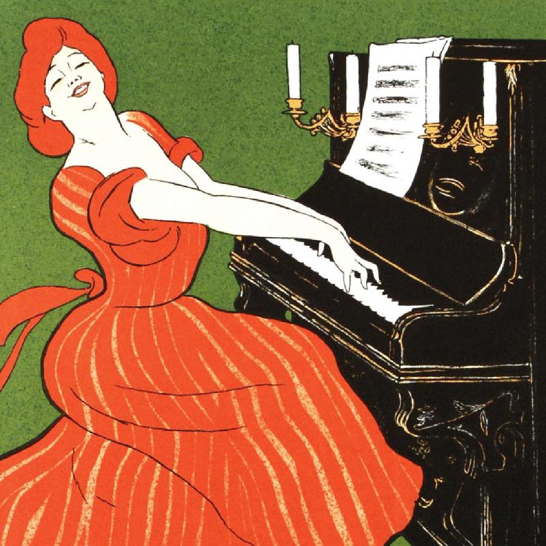"""""""Piano Ortiz and Cuzzo"""" Hand Pulled Lithograph by the - 2"""