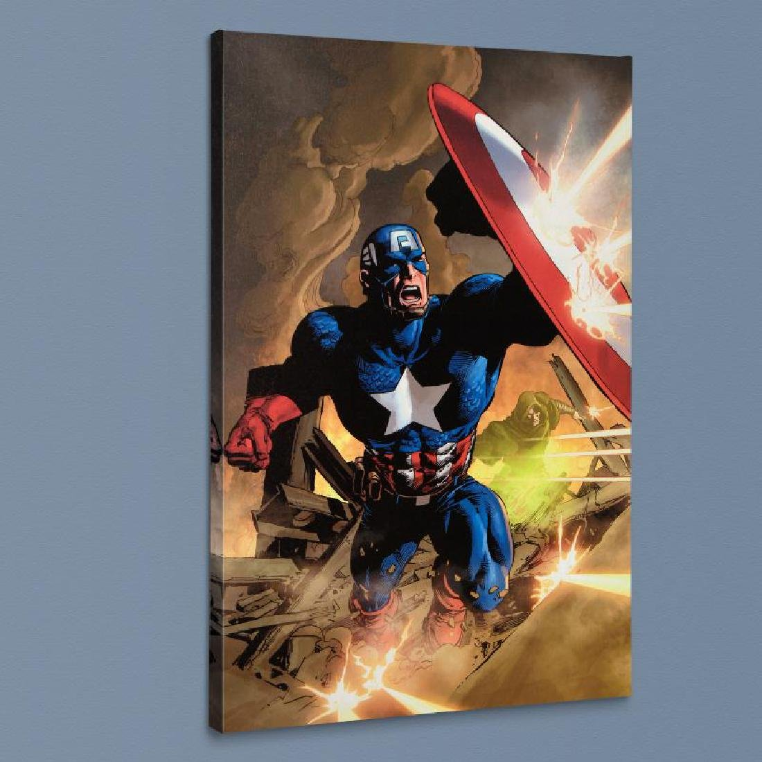 """Secret Avenger #12"" LIMITED EDITION Giclee on Canvas - 4"