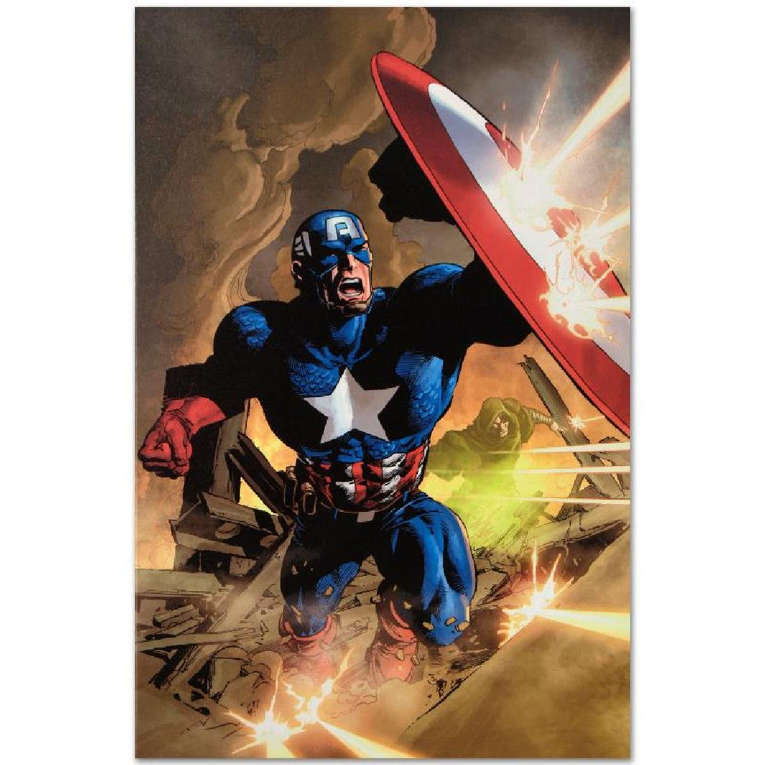 """Secret Avenger #12"" LIMITED EDITION Giclee on Canvas - 5"