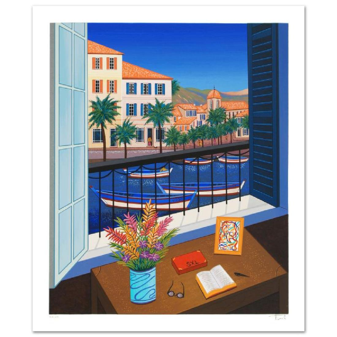 """Window on Bonifacio"" Limited Edition Serigraph by"