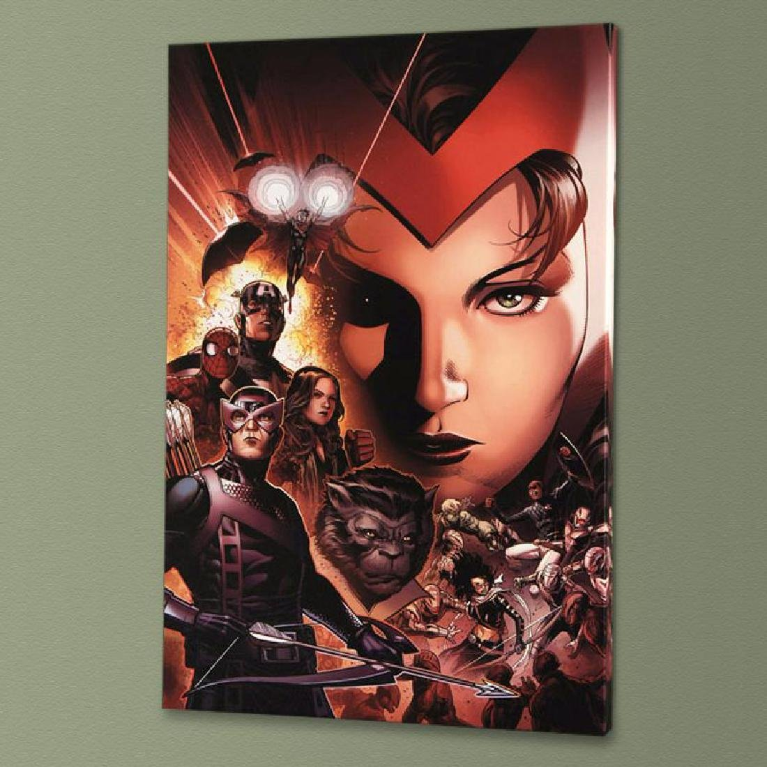 """Avengers: The Children's Crusade #6"" Limited Edition"