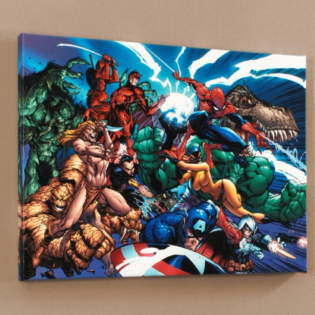 """Marvel Comics Presents #1"" Limited Edition Giclee on"