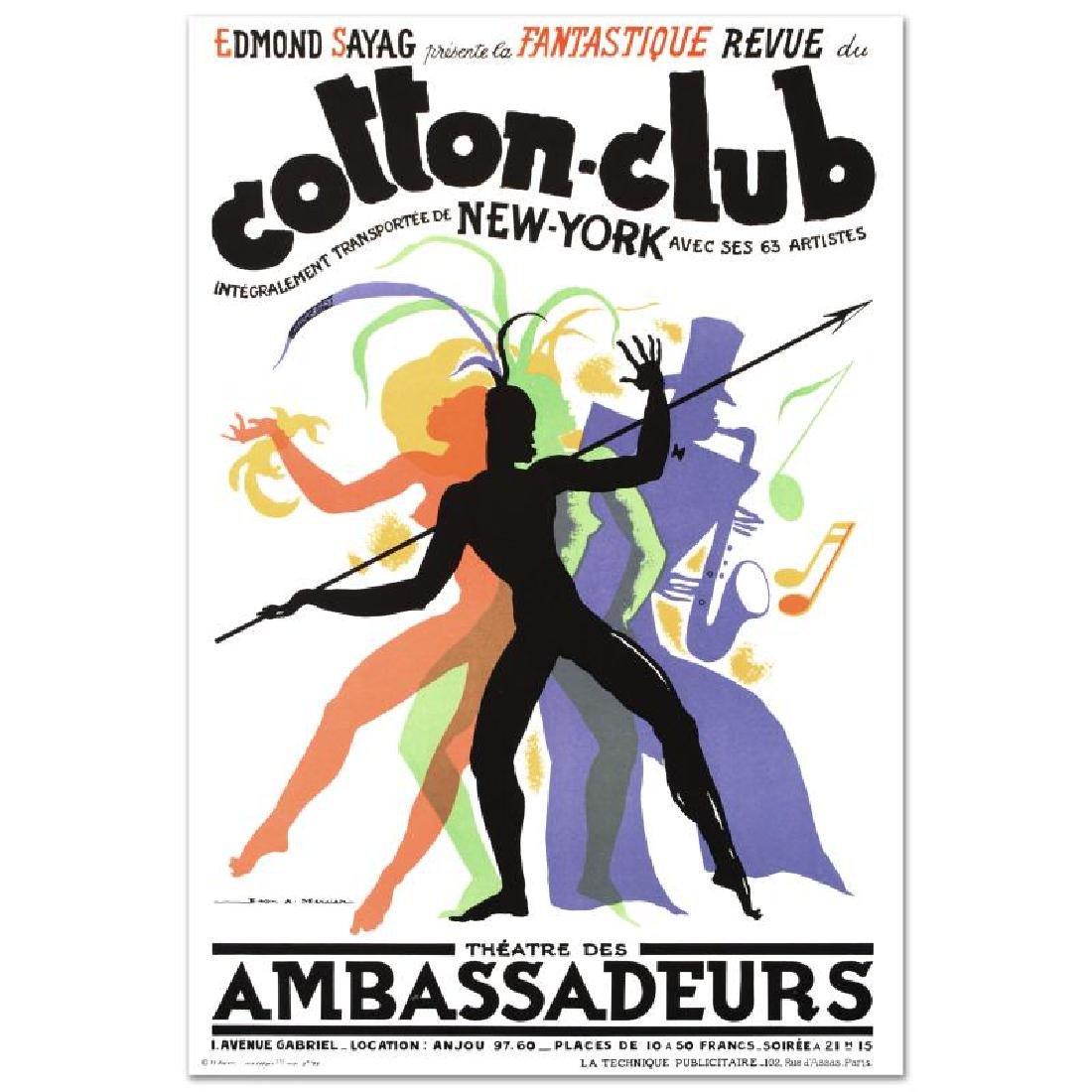 """Cotton Club"" Hand Pulled Lithograph by the RE Society"
