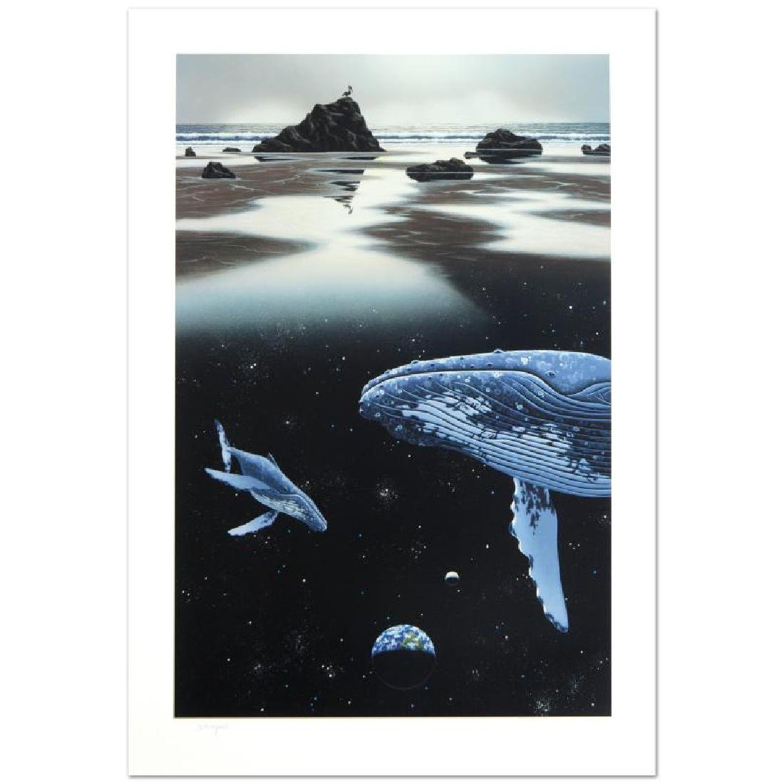 """Sands of Time"" Limited Edition Serigraph by William"