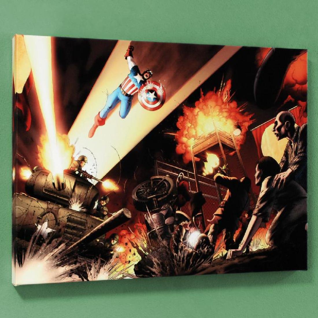 """Fallen Son: Death of Captain America #5"" Limited"