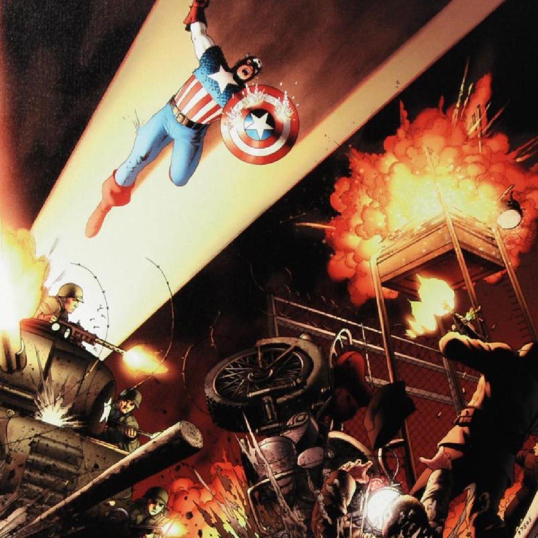 """Fallen Son: Death of Captain America #5"" Limited - 4"