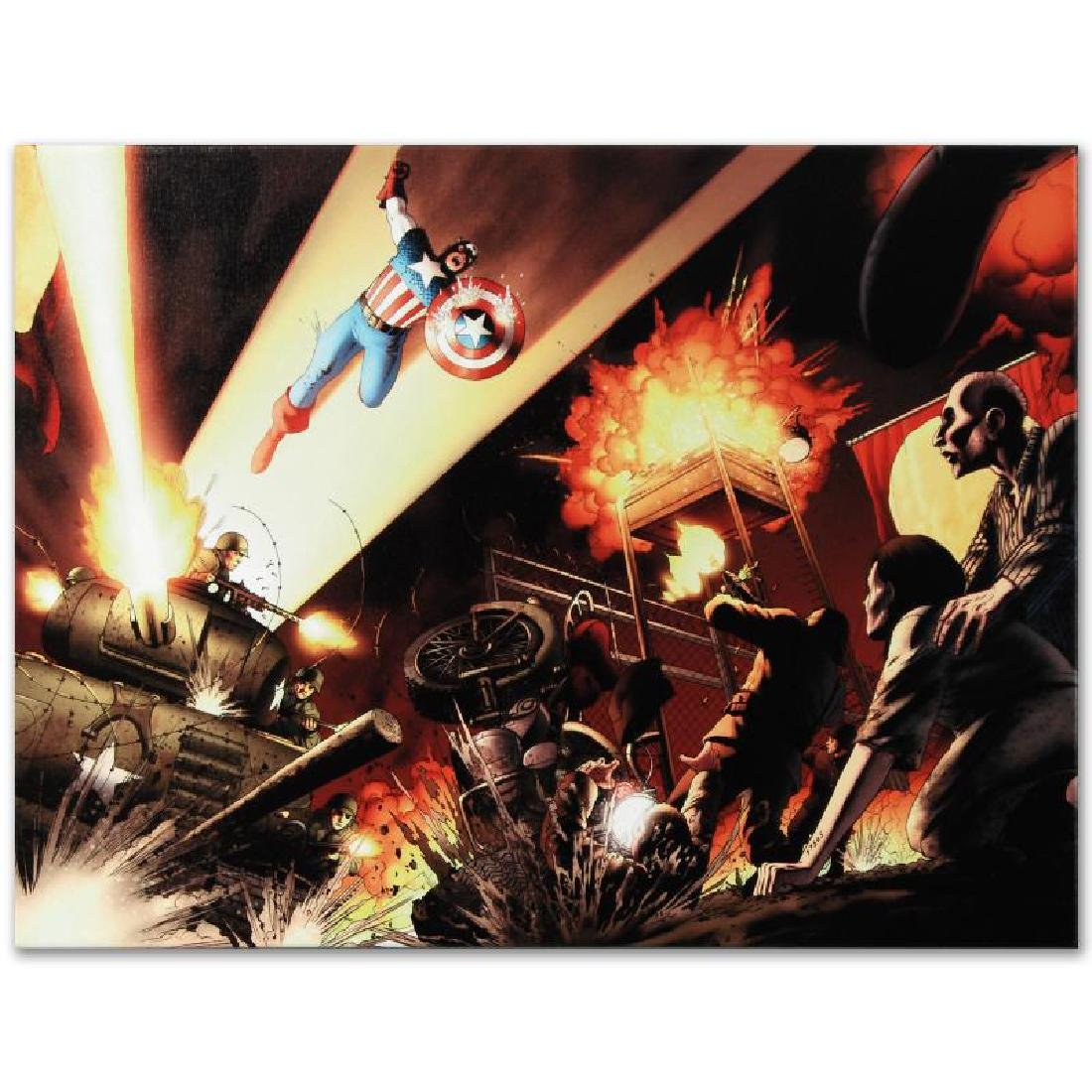"""Fallen Son: Death of Captain America #5"" Limited - 6"