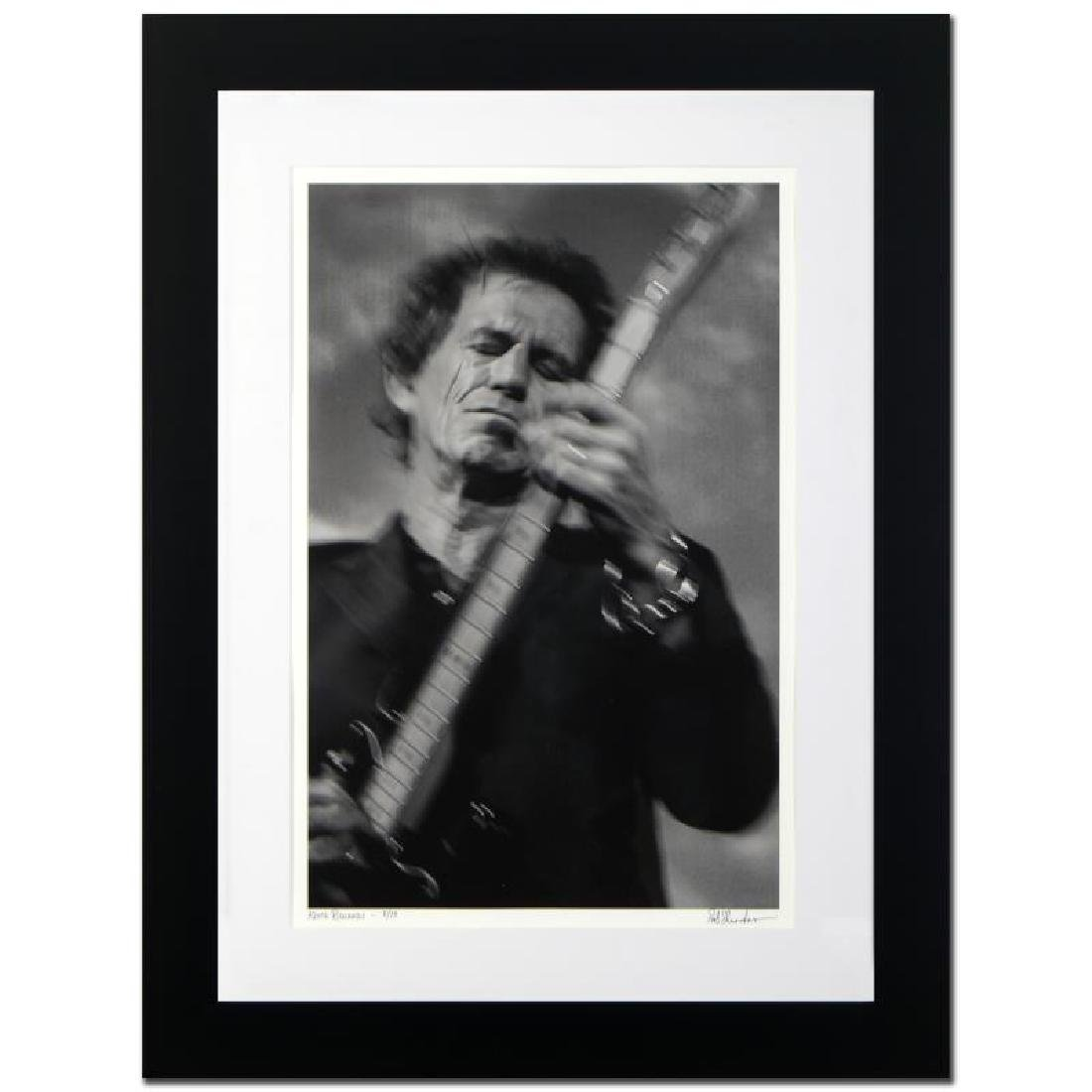 """""""Keith Richards"""" Limited Edition Giclee by Rob Shanahan - 3"""