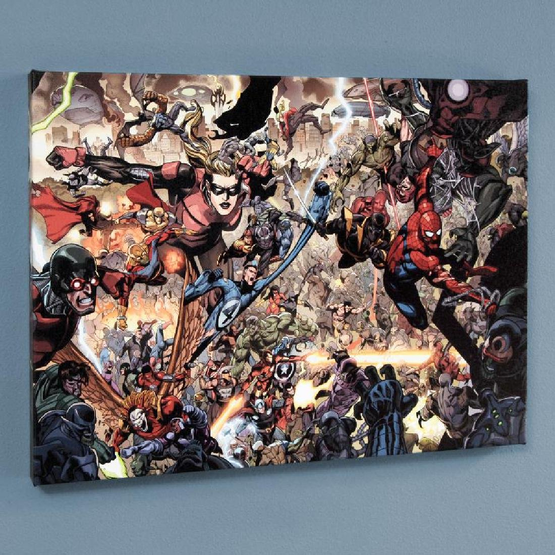 """Secret Invasion #7"" Limited Edition Giclee on Canvas"
