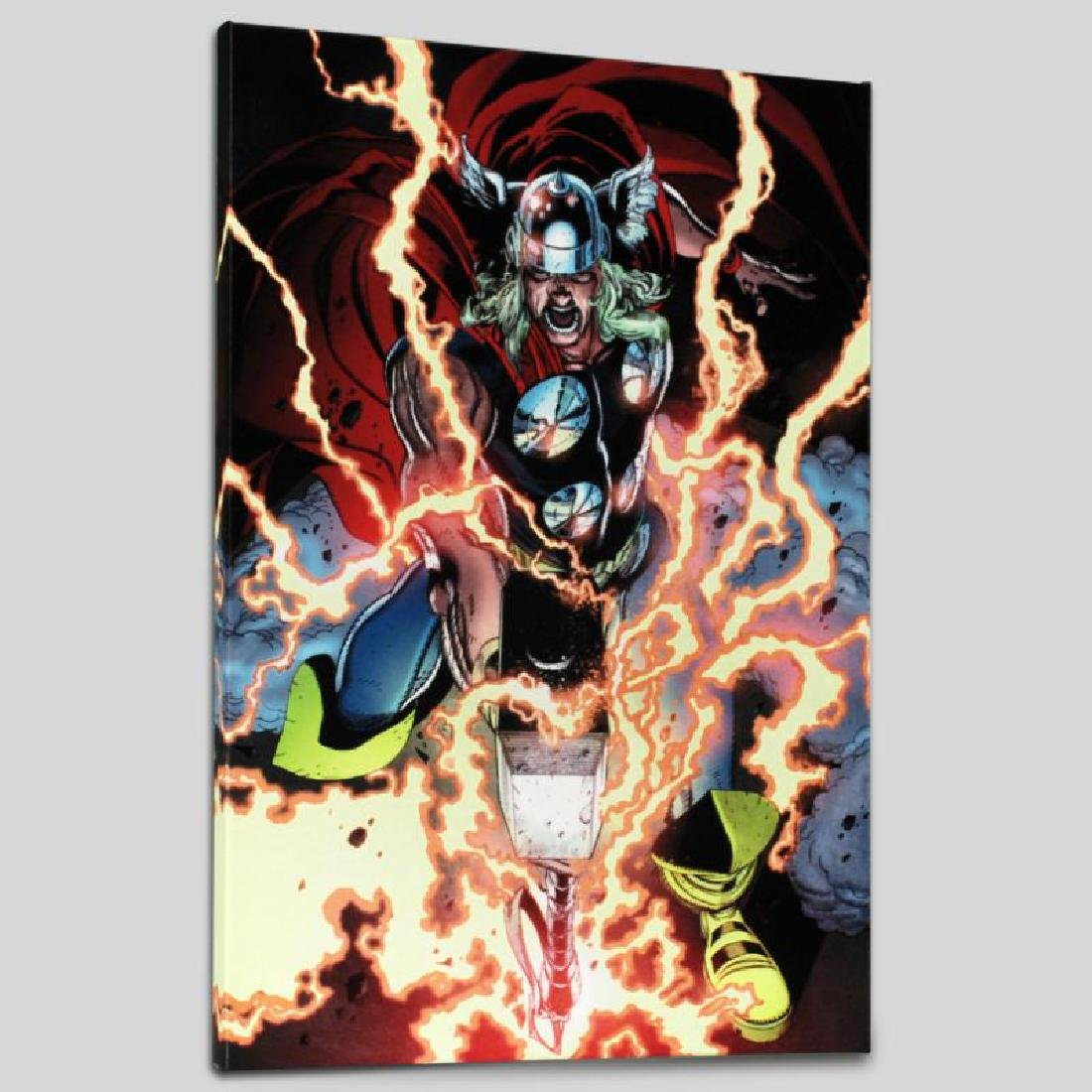 """""""Thor First Thunder #1"""" Limited Edition Giclee on"""