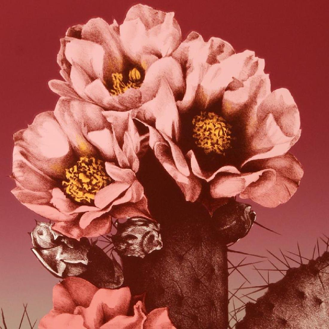 """Prickly Pear"" Limited Edition Lithograph by Lee - 4"