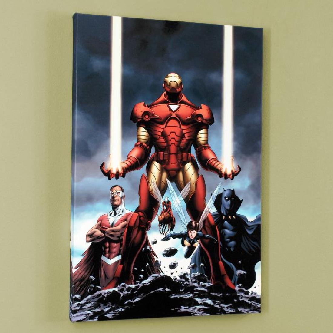 """Iron Man #84"" Limited Edition Giclee on Canvas by"
