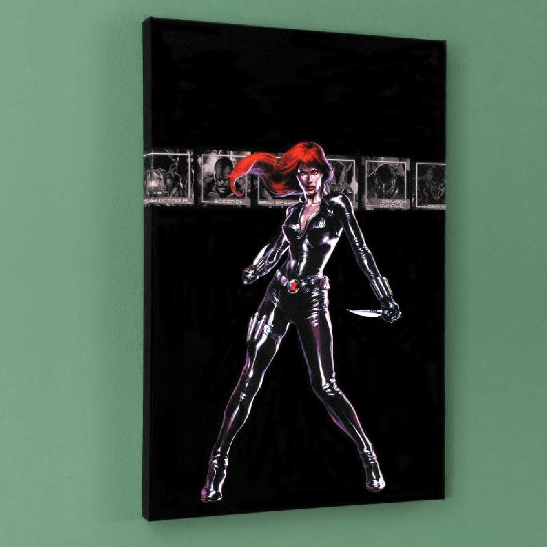 """""""Secret War #4"""" Limited Edition Giclee on Canvas by - 4"""