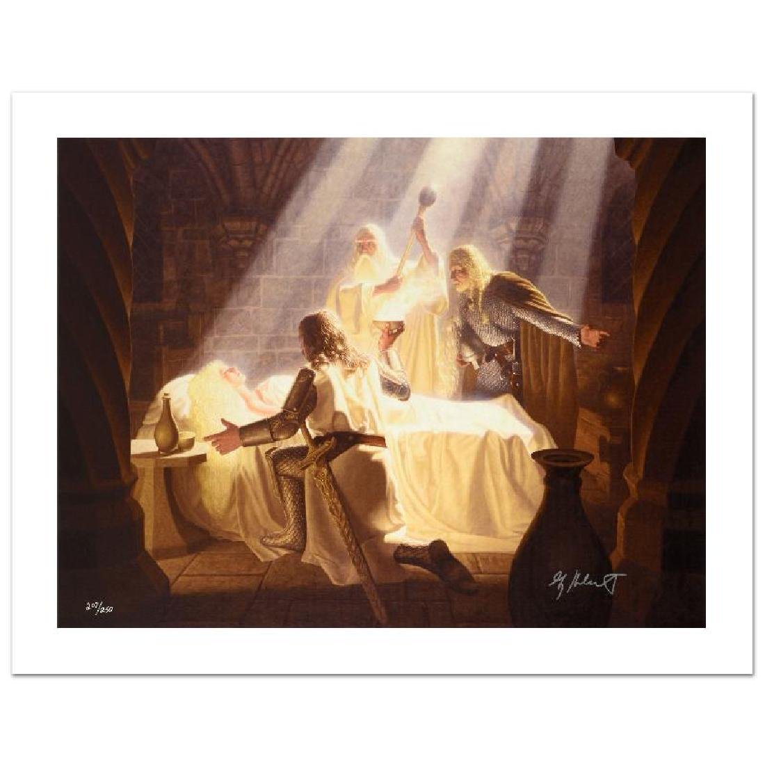 """""""The Healing Of Eowyn"""" Limited Edition Giclee on Canvas - 3"""