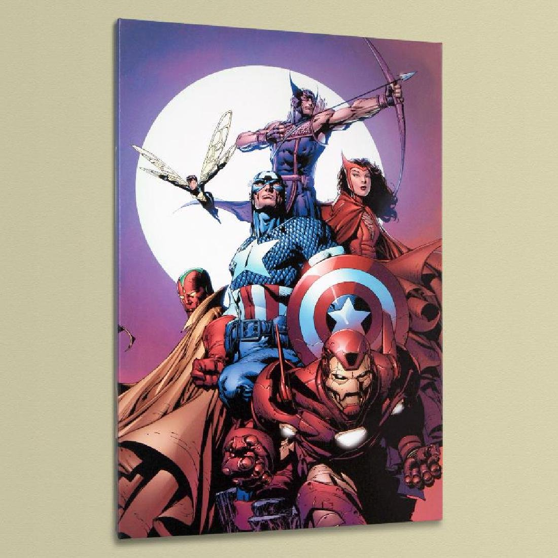 """Avengers #80"" LIMITED EDITION Giclee on Canvas by - 4"