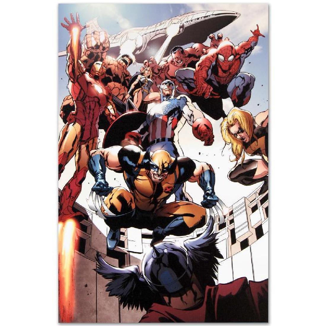 """Annihilators: Earthfall #1"" LIMITED EDITION Giclee on - 6"