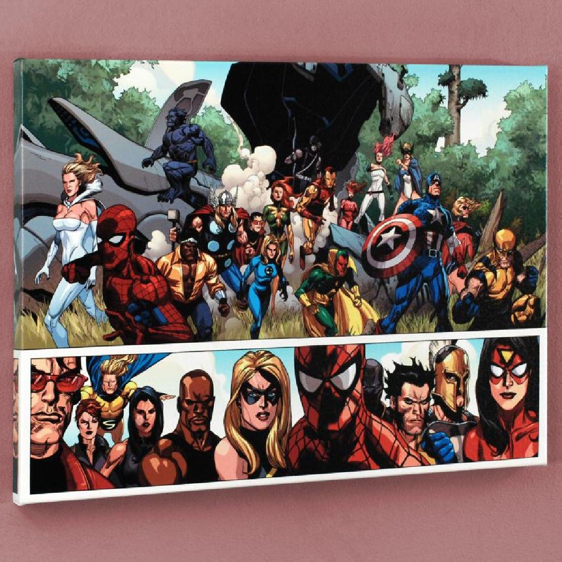 """Secret Invasion #1"" Limited Edition Giclee on Canvas"