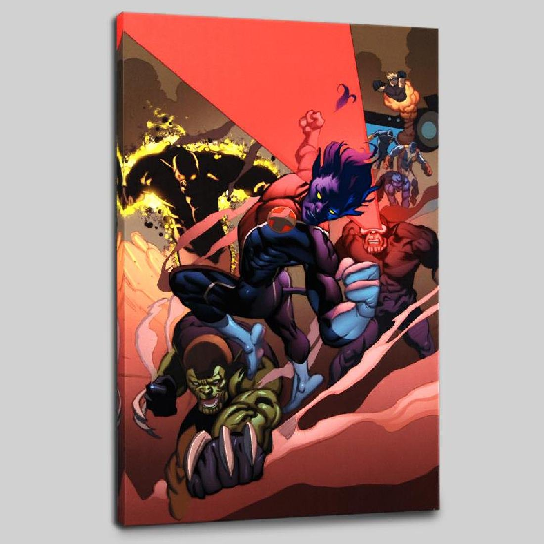 """Secret Invasion: X-Men #1"" Limited Edition Giclee on"