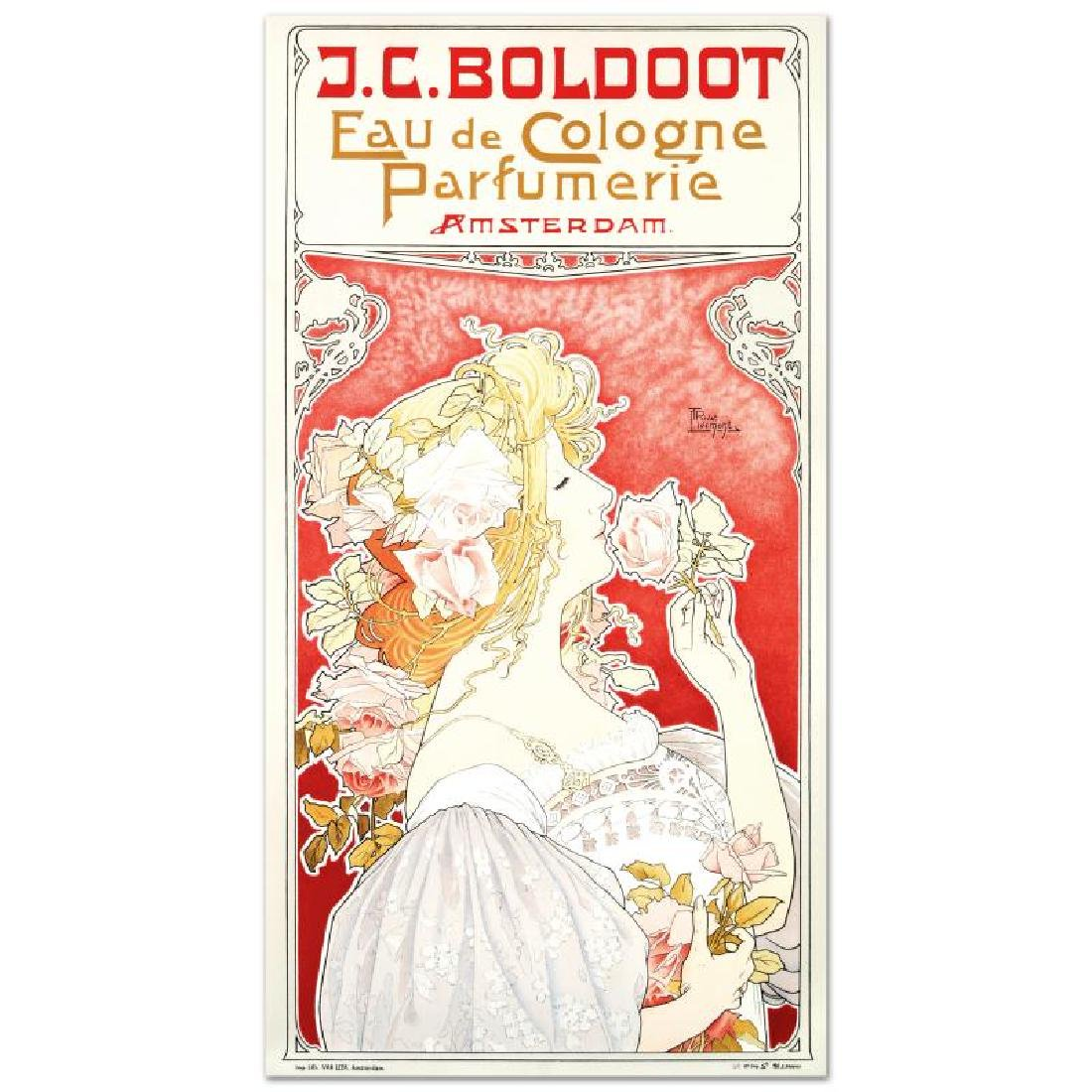 """""""J.C. Boldoot"""" Hand Pulled Lithograph by the RE Society"""