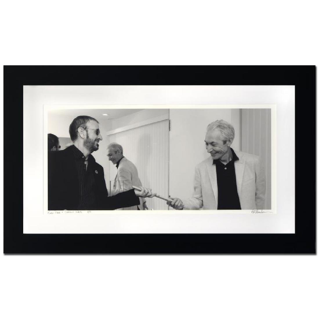 """""""Ringo Starr & Charlie Watts"""" Limited Edition Giclee by"""