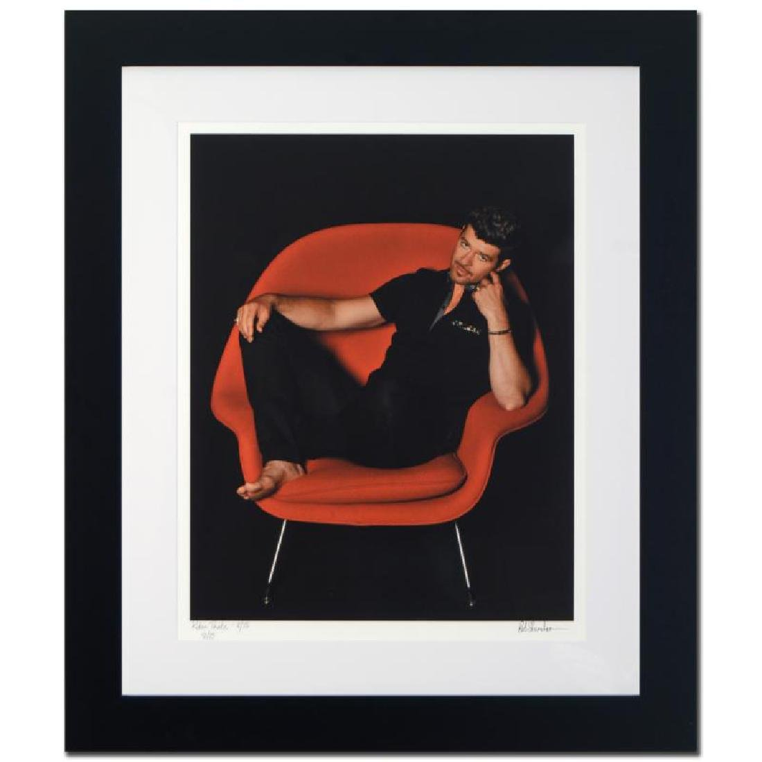 """""""Robin Thicke"""" Limited Edition Giclee by Rob Shanahan - 3"""