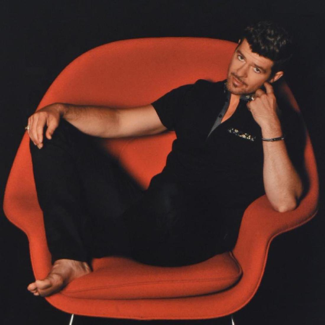 """""""Robin Thicke"""" Limited Edition Giclee by Rob Shanahan - 4"""