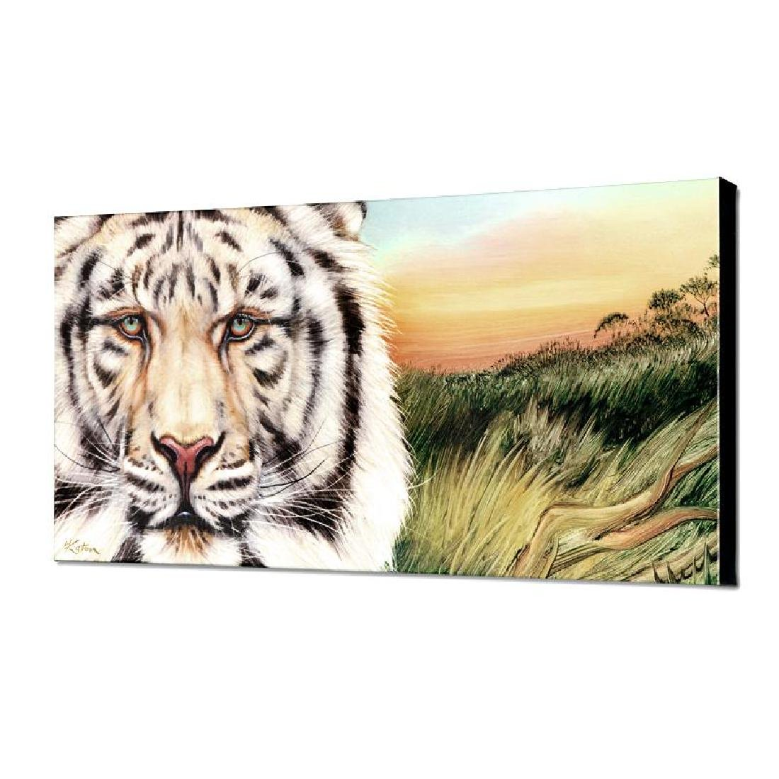 """White Bengal"" Limited Edition Giclee on Canvas by"