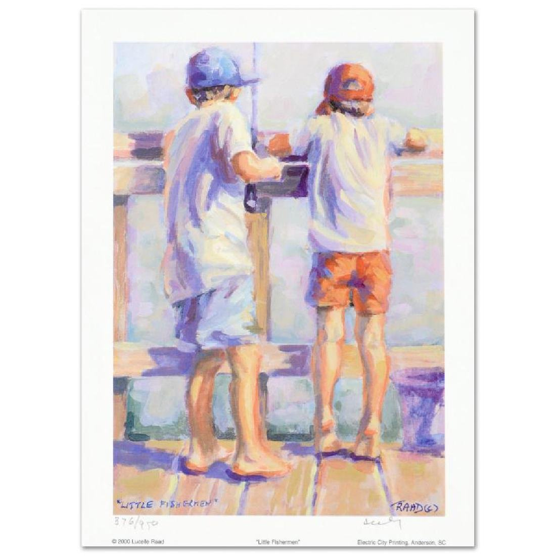 """Little Fishermen"" Limited Edition Lithograph by"